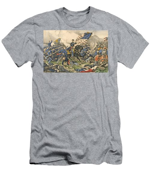 The Battle Of Williamsburg, Va Men's T-Shirt (Athletic Fit)