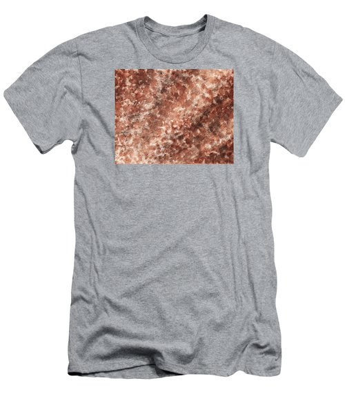 The Beams Of Light Beige Abstract Men's T-Shirt (Athletic Fit)