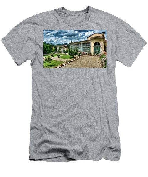 The Beauty Of The Boboli Gardens Men's T-Shirt (Athletic Fit)