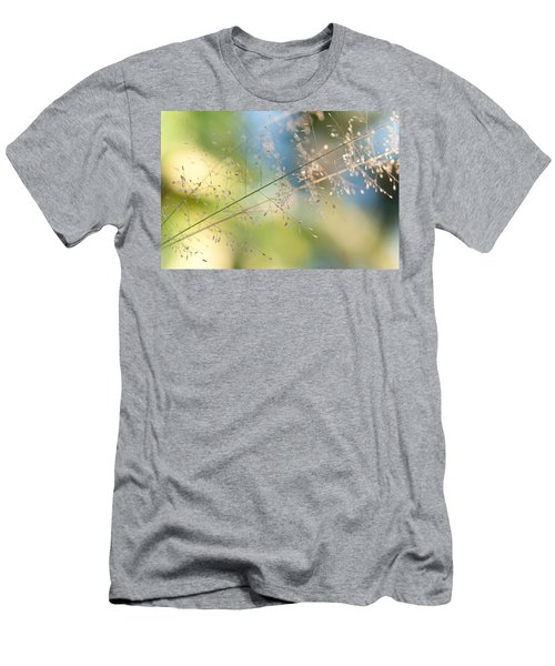The Beauty Of The Earth. Natural Watercolor Men's T-Shirt (Athletic Fit)