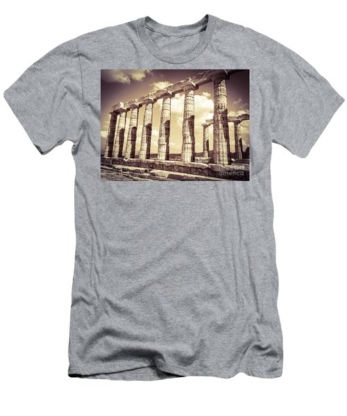 The Beauty Of The Temple Of Poseidon Men's T-Shirt (Athletic Fit)