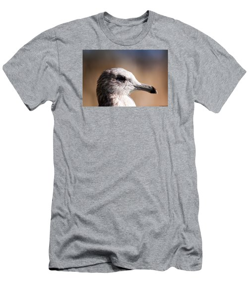 The Best Side Of The Gull Men's T-Shirt (Slim Fit) by Lora Lee Chapman