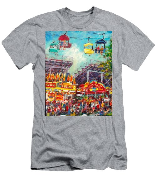 The Big Cheese Men's T-Shirt (Athletic Fit)