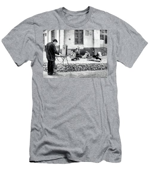 The Blind Side Men's T-Shirt (Athletic Fit)