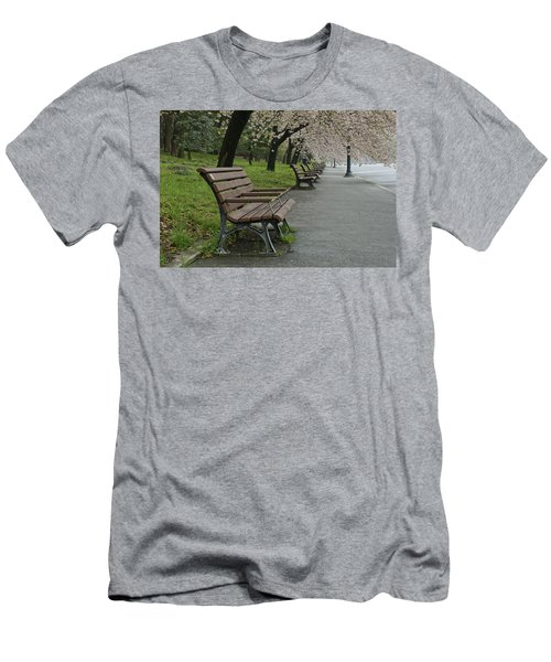 The Blossoms And The Bench Men's T-Shirt (Athletic Fit)