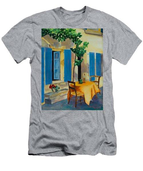 The Blue Shutters Men's T-Shirt (Athletic Fit)