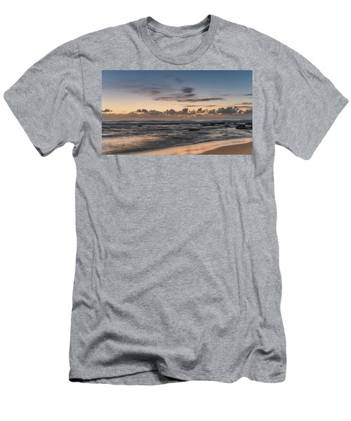 The Blues - Sunrise Seascape  Men's T-Shirt (Athletic Fit)