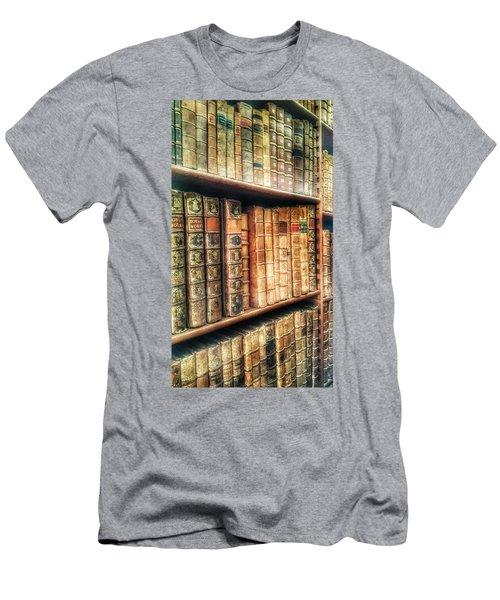 The Bookcase Men's T-Shirt (Slim Fit)