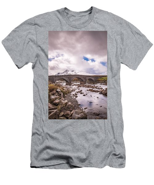 The Bridge At Sligachan On Skye Men's T-Shirt (Athletic Fit)