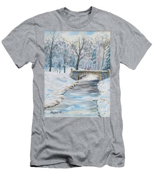The Bridge Men's T-Shirt (Slim Fit) by Stanton Allaben