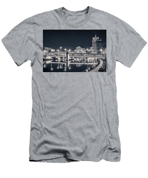 Men's T-Shirt (Athletic Fit) featuring the photograph The Bright Dark Of Night by Bill Pevlor