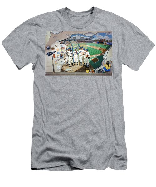 The Brooklyn Dodgers In Ebbets Field Men's T-Shirt (Athletic Fit)