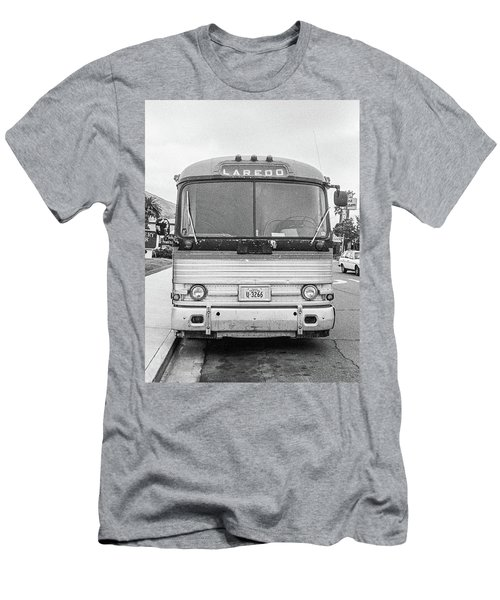 Men's T-Shirt (Athletic Fit) featuring the photograph The Bus To Laredo by Frank DiMarco