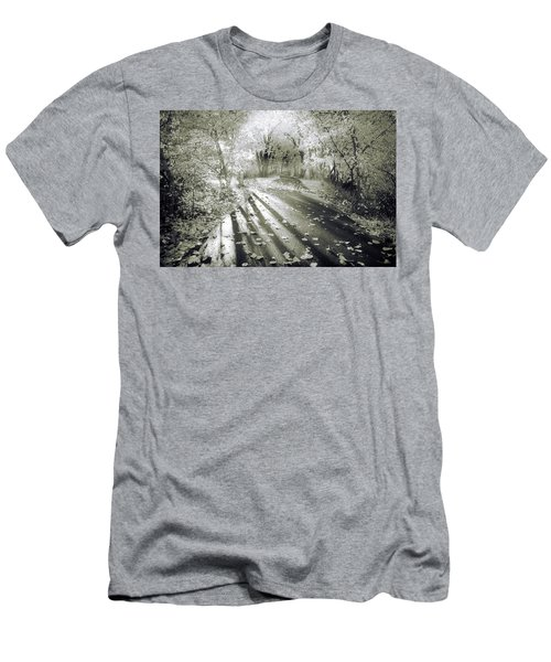 Men's T-Shirt (Slim Fit) featuring the photograph The Calm In Shadows And Light by Tara Turner