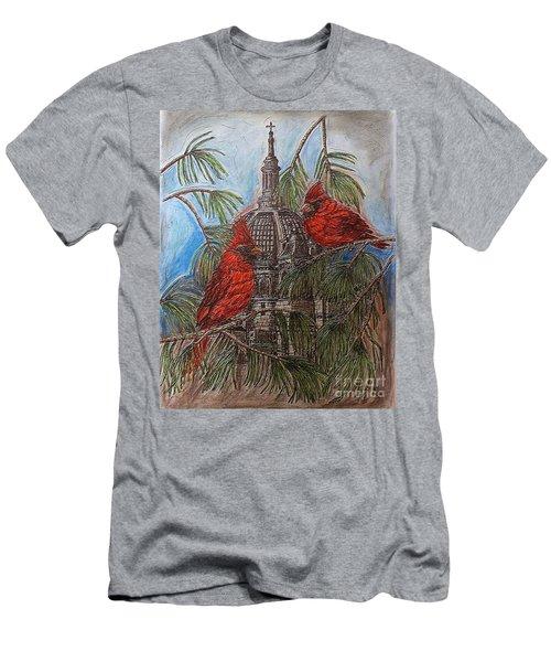 The Cardinals Visit St.pauls Cathedral Men's T-Shirt (Slim Fit) by Kim Jones