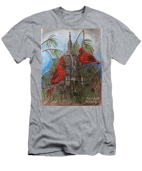 The Cardinals Visit St.pauls Cathedral Men's T-Shirt (Athletic Fit)