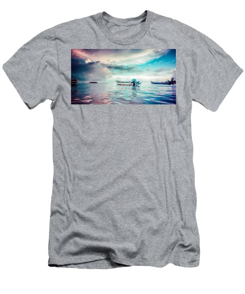 The Caribbean Morning Men's T-Shirt (Athletic Fit)