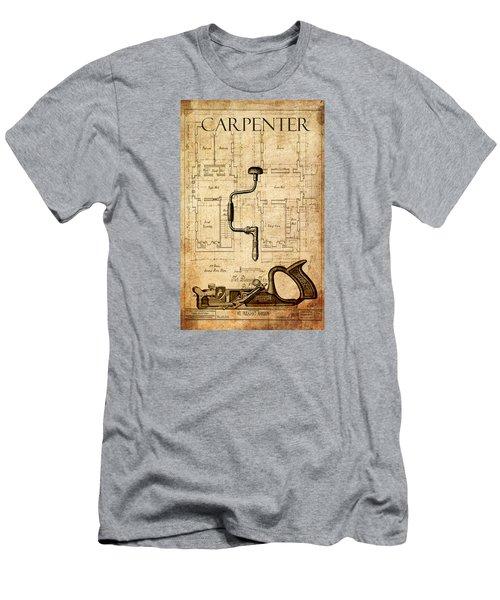 The Carpenter Men's T-Shirt (Slim Fit) by Greg Sharpe