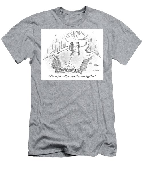The Carpet Really Brings The Room Together Men's T-Shirt (Athletic Fit)
