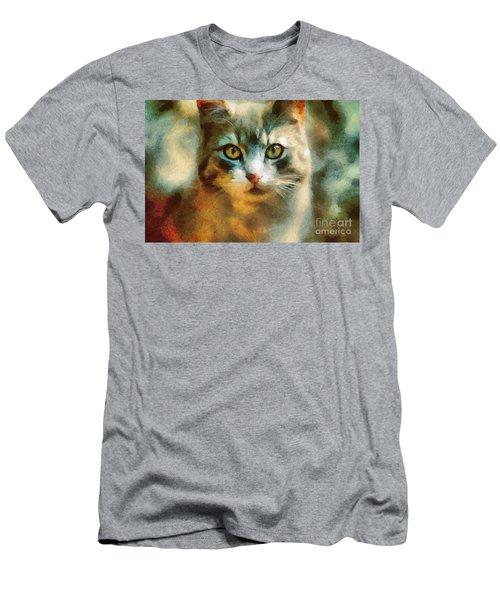 The Cat Eyes Men's T-Shirt (Athletic Fit)