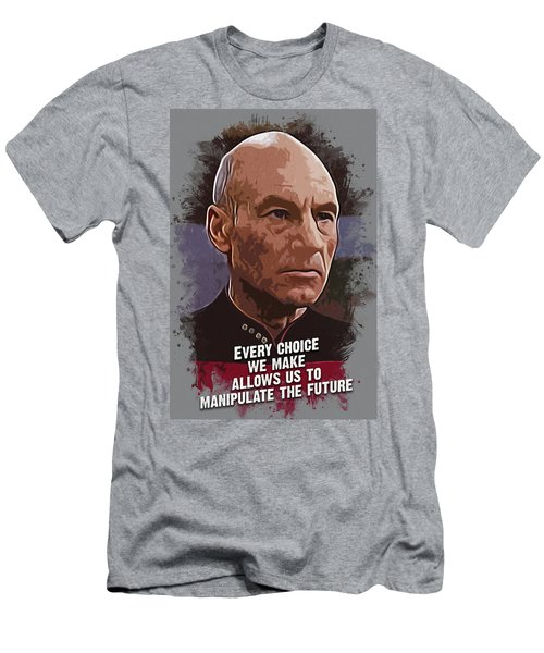 The Choice - Picard Men's T-Shirt (Athletic Fit)