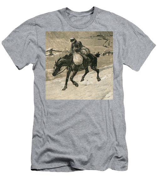 The Christmas Postman Men's T-Shirt (Athletic Fit)