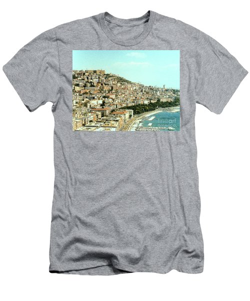 Men's T-Shirt (Athletic Fit) featuring the photograph The City Of Sorrento, Italy by Merton Allen