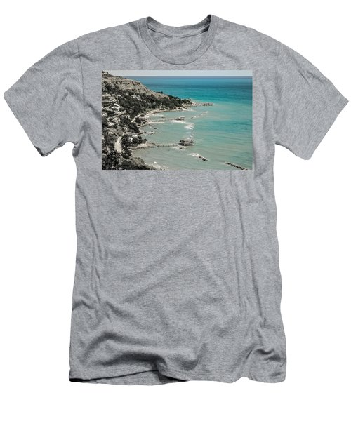 The City Of Waves Men's T-Shirt (Athletic Fit)