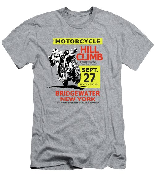 The Classic Motorcycle Hill Climb Men's T-Shirt (Athletic Fit)
