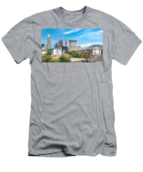 The Cleveland Skyline Men's T-Shirt (Athletic Fit)