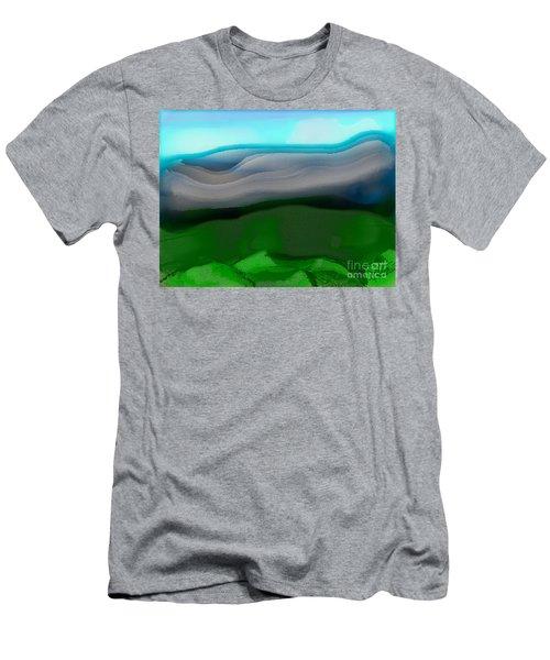 The Hilltop View Men's T-Shirt (Athletic Fit)