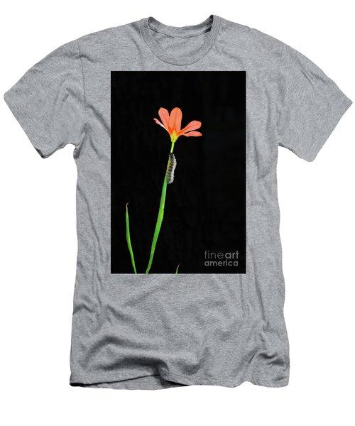 The Climb Men's T-Shirt (Slim Fit) by Cassandra Buckley