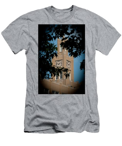 The Clock Tower Men's T-Shirt (Athletic Fit)