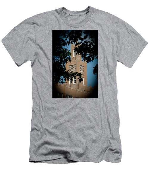 Men's T-Shirt (Athletic Fit) featuring the photograph The Clock Tower by Mark Dodd