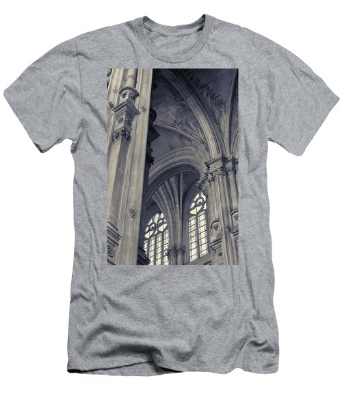 The Columns Of Saint-eustache, Paris, France. Men's T-Shirt (Athletic Fit)