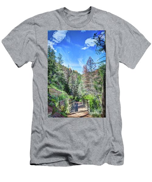 Men's T-Shirt (Slim Fit) featuring the photograph The Connection by Deborah Klubertanz
