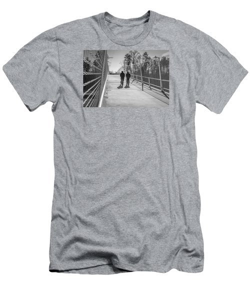 Men's T-Shirt (Slim Fit) featuring the photograph The Conversation by Wade Brooks