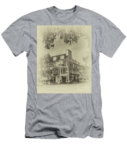 The Corner Room In Sepia Men's T-Shirt (Athletic Fit)