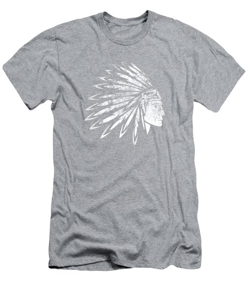 The Crying American Indian Men's T-Shirt (Athletic Fit)