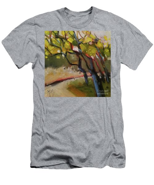 The Dance Abstract Tree Woods Forest Wild Nature Men's T-Shirt (Athletic Fit)