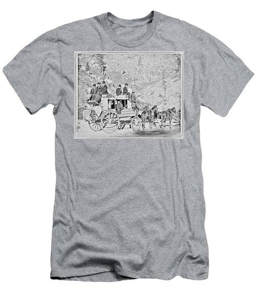 The Deadwood Coach Men's T-Shirt (Athletic Fit)