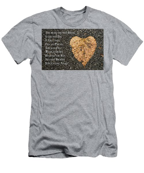The Decay Of Heart Men's T-Shirt (Athletic Fit)