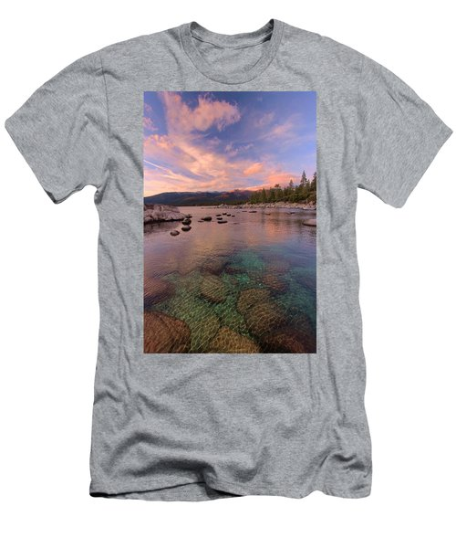 Men's T-Shirt (Athletic Fit) featuring the photograph   The Depths Of Sundown by Sean Sarsfield
