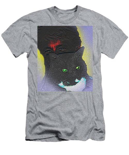 The Devils Mask Men's T-Shirt (Athletic Fit)
