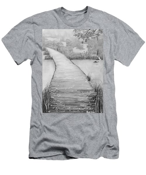 The Divine Path Men's T-Shirt (Athletic Fit)