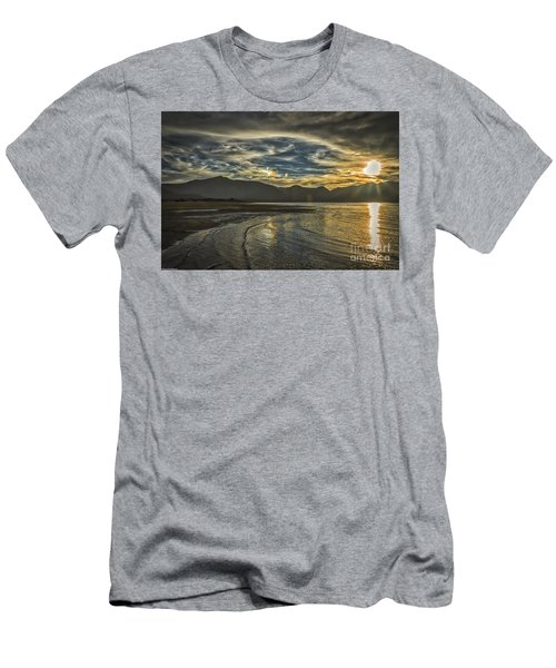 Men's T-Shirt (Slim Fit) featuring the photograph The Dog Days Of Summer by Mitch Shindelbower