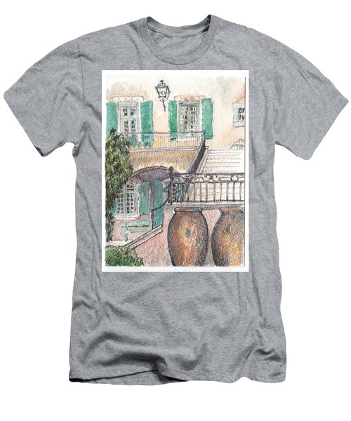 The Dora Maar Residency Men's T-Shirt (Athletic Fit)