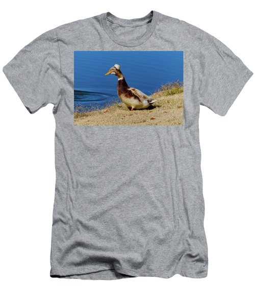 The Duck With The Pillbox Hat Men's T-Shirt (Athletic Fit)