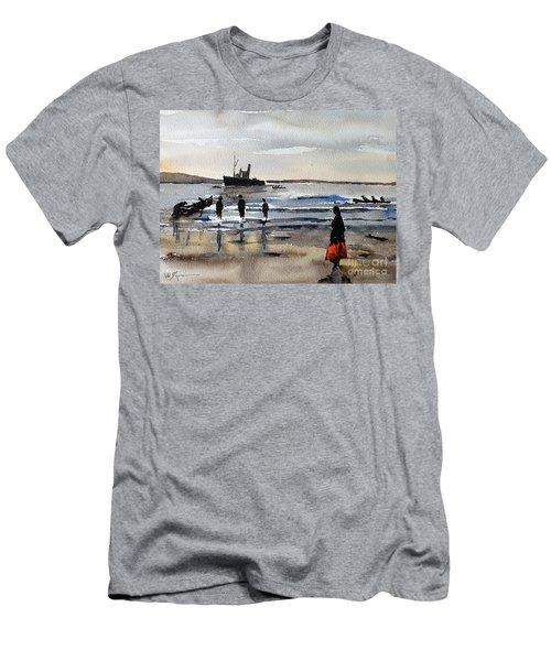 The Dun Aengus Off Aran, Galway Men's T-Shirt (Athletic Fit)