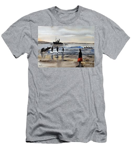The Dun Aengus Off Aran, Galway Men's T-Shirt (Athletic Fit)